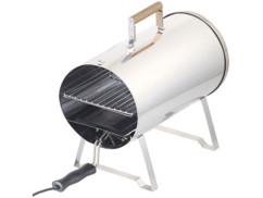 Fumoir électrique de table en acier inoxydable 1100W/ jusqu'à 250°C