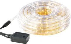 Guirlande à LED étanche IP44 (20 m) - Jaune