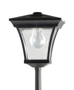 Lampadaire de jardin solaire à LED 200 cm