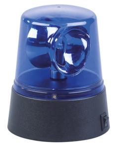 Lampe gyrophare bleu à LED