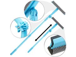 Lave-vitre télescopique avec éponge et raclette par Sichler Haushaltsgeräte.