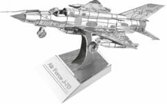 Maquette 3D en métal : Avion de chasse - 26 pièces