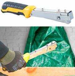 marteau agrapheur agrafeur pour agrafes de bricolage fixation bache voile plafond tendu