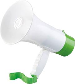 megaphone 10w jusqu'à 300m avec musique et mode enregistreur infactory