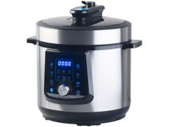 Multicuiseur sous pression à 11 programmes / 6 L / 1000 W / 70 kPa