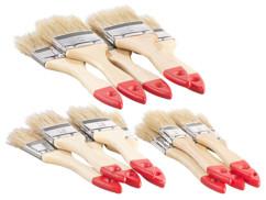 pack de 15 pinceaux pour peinture des murs 3 tailes 2 1,5 1 pouces