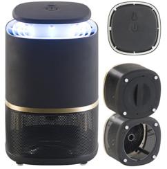piege a moustiques avec uv et aspirateur pour pieger les insectes allumage automatique boitier design