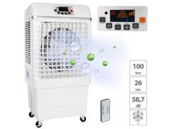 Rafraîchisseur/humidificateur d'air LW-620 avec fonction ioniseur 26 L/100 W
