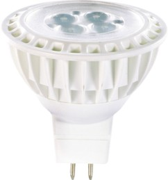 4 Spots à LED High-Power, GU5.3, 5 W - blanc chaud