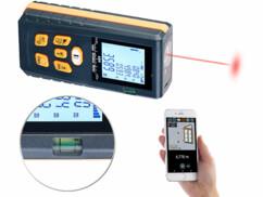 Télémètre laser connecté avec bluetooth et écran LCD