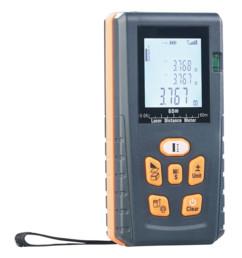 télémètre laser jusqu'à 60m avec application calcul volumes surfaces et mémoire des mesures agt