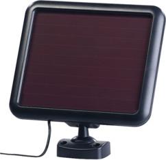 Triple spot mural solaire à LED 1500 lm avec détecteur de mouvement