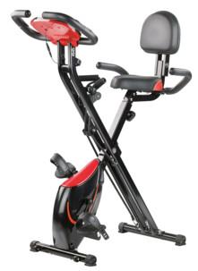 Vélo d'appartement multi-fitness XL avec masse d'inertie 2,5kg : HT-535