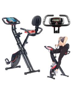 Vélo d'appartement multi-fitness XL avec masse d'inertie 2,5 kg : HT-535