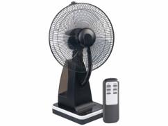 Ventilateur de table 2 en 1 avec vaporisation à ultrasons