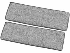 Deux serpillères pour balai WM-04 Sichler Haushaltsgeräte.