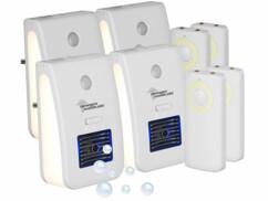 4 veilleuses télécommandées avec ioniseu