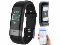 """Bracelet fitness avec bluetooth, cardiofréquencemètre, tensiomètre """"FBT-85"""""""