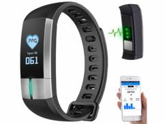 Bracelet fitness avec bluetooth et fonctions tensiomètre FBT-105