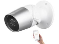 caméra de surveillance extérieur etanche full hd ip wifi avec application elesion ipc 620 7links