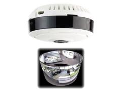 """Caméra de surveillance IP panoramique 360° à vision PIR """"IPC-510.wide"""""""