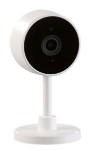 Caméra IP Full HD avec détection de mouvement & vision nocturne infrarouge, compatible avec Echo Sho