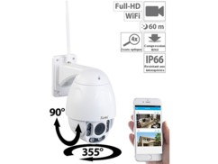 Caméra IP Full HD outdoor Speed-Dome avec wifi et vision nocturne IPC-920.FHD