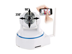 Caméra IP wifi Full HD rotative & orientable IPC-380 - Pour intérieur