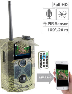 Caméra nature Full HD GSM WK-600.gsm avec détection de mouvement