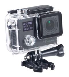caméra sport 4k auvisio avec capteur sony et boitier etanche plongee 30 m