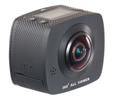 "Caméra sport Full HD à 2 objectifs pour vidéos VR 360° ""DV-1936.wifi"""