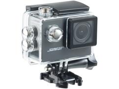 Caméra sport HD avec boîtier étanche et fonction webcam Somikon DV-1212