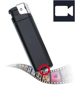 Caméra vidéo HD ''MC-1280'' design briquet, avec port MicroSD