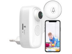 Caméra wifi Full HD secteur avec bouton d'urgence IPC-250.fhd