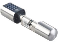 serrure securisée sans clé avec code pin ou ouverture bluetooth