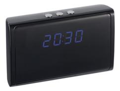 mini horloge digitale avec caméra espion intégrée OctaCam