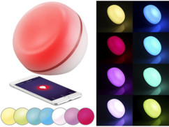 lampe d'ambiance led couleur connectée compatible alexa smartlife ambilight application ios iphone android