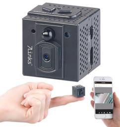 micro caméra hd de surveillance camouflée furtive avec detecteur de mouvement et vision nocturne infrarouge et application
