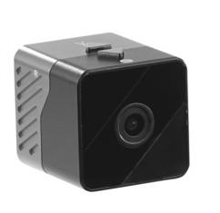 mini caméra cube de poche avec ventouse de fixation haut resolution full hd 1080p somikon dv1000