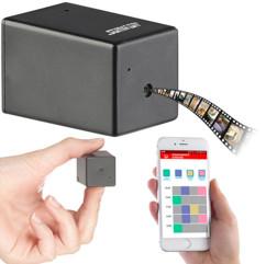 Micro caméra HD camouflée espion taille piece de monnaise avec batterie longue autonomie et programmation heures d'enregistrement DV800 somikon