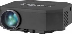 Mini projecteur vidéo à LED 200 lumens ''LB-4001.mini'' avec lecteur multimédia
