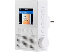 webradio pour prise secteur avec radios internet infos météo cours bourse mode réveil vr-radio