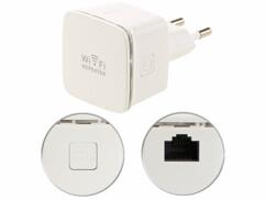 Mini répéteur wifi 300 Mbps avec fonction point d'accès WLR-350.sm