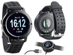 Montre avec fonctions bluetooth, cardiofréquencemètre, tensiomètre SW-350