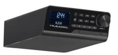 Radio de cuisine connectée DAB+/FM, bluetooth QAS-100 - Noir