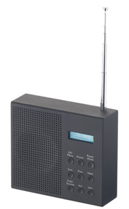 Radio-réveil DAB+ / FM nomade avec écran LCD