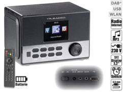 radio reveil avec stations internet et frequences fm dab+ irs-650 vr-radio