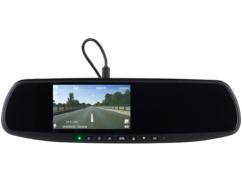 retroviseur avec camera embarquée écran led et kit mains libres integré nav400 navgear