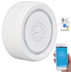 alarme 100 decibels connectée compatible iphone ios android alexa google home compatible capteurs visortech xmd