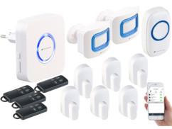 Système d'alarme connecté compatible Alexa XMD-3000.avs - 13 accessoires